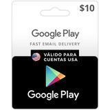 $10 Gift Card Tarjetas Regalo Eeuu Google Play |entrega_ya|