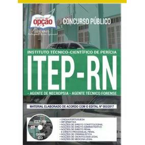 Apostila Concurso Itep - Rn 2018 Ag Necropsia E Téc Forense