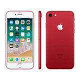 Iphone 7 Red 256gb, 6 Meses De Uso Com Garantia De Fábrica