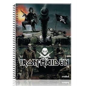 Caderno Iron Maiden A Matter Of Life And Death 10 Matérias