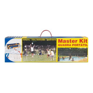 Quadra Portátil Para Beach Tennis Master Kit