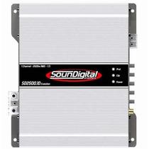 Módulo Amplificador Soundigital Sd2500 Evolution 2500w Rms