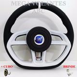 Volante Branco Azul P/ Fiat Uno 95 96 97 98 99 2000!