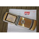 Motorola V3i Dolce & Gabbana Gold!