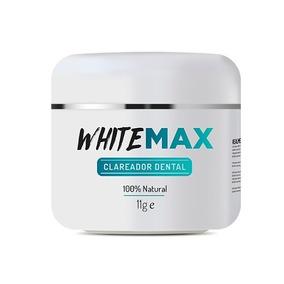 Clareador Dental Whitemax 1 Pote 100% Natural White Max :)
