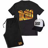 57bc8c6192 Kit Camiseta + Boné + Bermuda 1kilo Musica Rapper Banda Rap