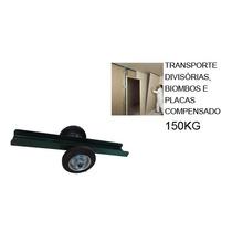 Carrinho Para Transporte De Divisórias, Biombos E Placas De