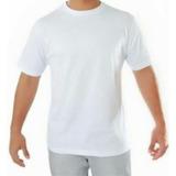 Camiseta Branca Lisa Para Sublimaçaõ E Silk Screen