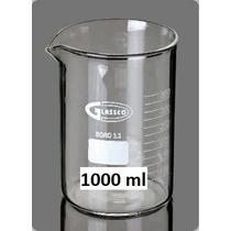 Vaso De Precipitado Forma Baja 1000 Ml Glassco Nuevo