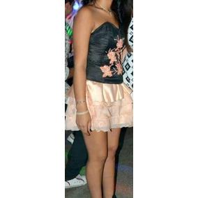 Vestido De 15 Años Con Pollerita Corta