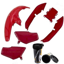 Kit Carenagem Honda Titan Cg 125 95 Á 99 + Brinde
