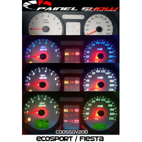 Ecosport Fiesta Cod550v220 220km Translucido P/ Painel