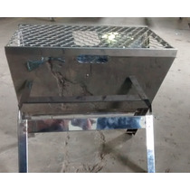 Churrasqueira Grill Inox,portátil,dobrável,churrasco,carvão