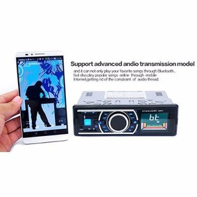 Som De Carro Mp3 Stereo Radio Fm Bluetooth Aux Usb P