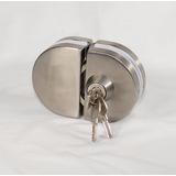 Cerradura Para Puertas De Doble Vidrio 2- Chapas Eclhd-240
