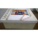 Linda Caixa Personalizada Mdf Com Foto.pintada E Decorada.