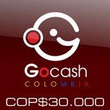 Tarjeta Gocash Cop $30.000 Card Colombia