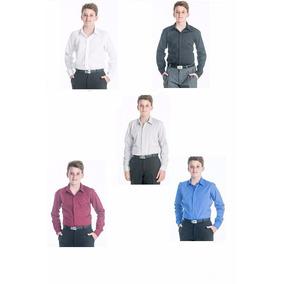 Camisa Vestir Niños Adolescentes