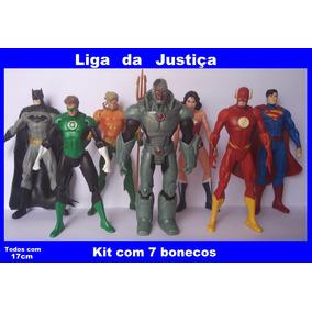 Bonecos Liga Da Justiça Com 7 Personagens