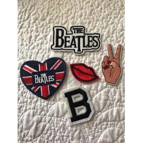 Paquete De Parches The Beatles Para Ropa, Mochilas Bolsas