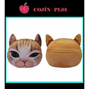 Cojines En Forma De Gato Perro Animales Decorativo Almohadas