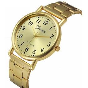 7af225c720b Geneva Relógio Silicone Cristal De Quartzo Lilás - Joias e Relógios ...