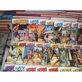 Zagor Extra Coleção De Gibis Editora Mythos Ano 2005 A 2017