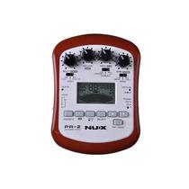 Pa-2 Nux Procesador De Efectos Portable Guitarra Acustica