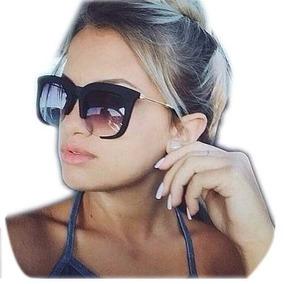 Óculos De Sol Feminino Clássico Rasoir Aberto Cores Grande