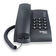 Telefone Com Fio Intelbras Preto Pleno