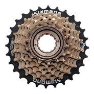 Piñon De Bicicleta Shimano Rosca Mf-tz 500 7 Velocidad 14-28