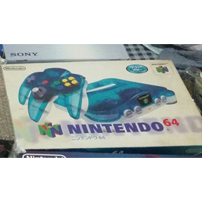 Nintendo 64 Clear Blue Aniz