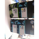 Tinta Hp 950xl Negro + 3 Colores 951 Normal