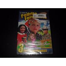 Pedro Fernandez 3 Peliculas En Dvd, Cine Mexicano 80,s