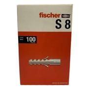 Tarugos De Nylon Fischer S8 En Caja X 100 Unidades
