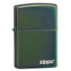 Encendedor Zippo Verde Camaleón 100% Original + Combo