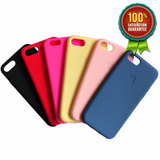 Capinha Case C/ Logo Apple, Silicone, Iphone 6s, 7, 7 Plus