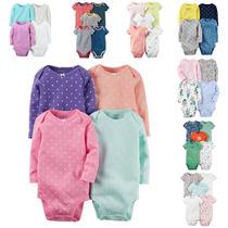 Carters Kit Conjunto Bodys Peças 5-4 Peças Bebe Infantil