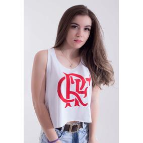 Cropped Feminina Do Flamengo - Camisetas e Blusas no Mercado Livre ... 79babdb86147e