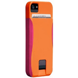 Case-mate Pop!id Ranura Tarjetas Naranja/rosa Iphone 5 5s Se