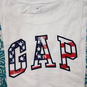 Remera Gap Hombre Roja Original