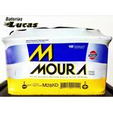 Bateria Moura 12x75 M28kd Vw Amarok Envio A Domicilio