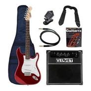 Guitarra Eléctrica Stratocaster Amplificador 35w Distorsión