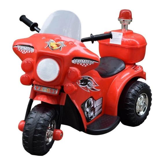 Moto 3 Ruedas A Bateria Ni?o 6v Policia Love 3006 Tiendamibb