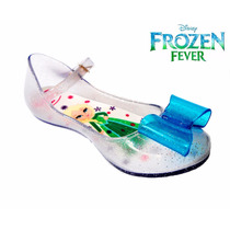 Sandália Sapatilha Baby Bebe Frozen Elsa Fever - Clique+