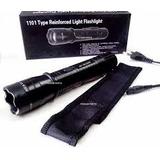 Kit 10 Arma De Choque Teaser Lanterna Tatica Ultrapotente