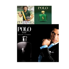 Kit Perfume Polo Green + Polo Black 100% Original