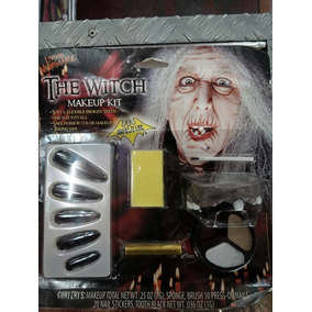Kit Maquillaje Bruja Halloween Disfraces