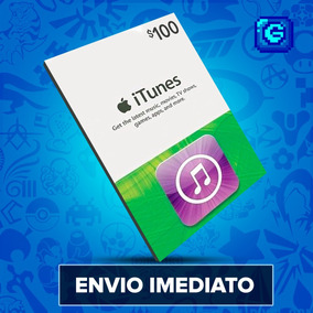 Itunes Gift Card $100 Dólares Usa - Ipod/iphone/ipad