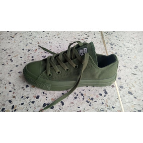 converse verdes mujer